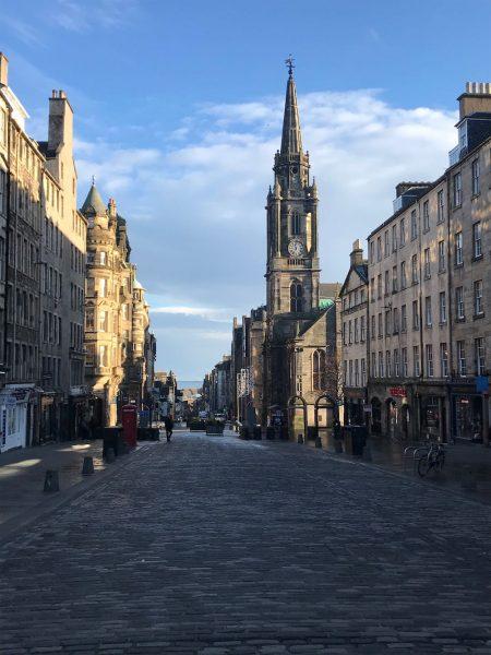 Edinburgh Old Town Tron Kirk