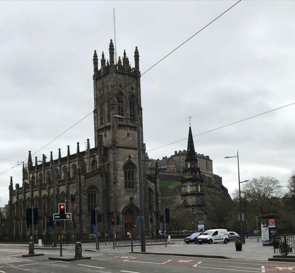 Edinburgh Old Town and Arthur's Seat