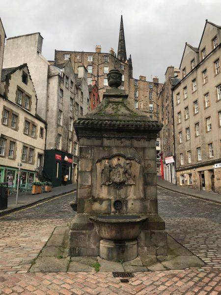 Edinburgh Old Town West Bow