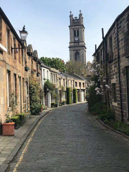Edinburgh new town Walk