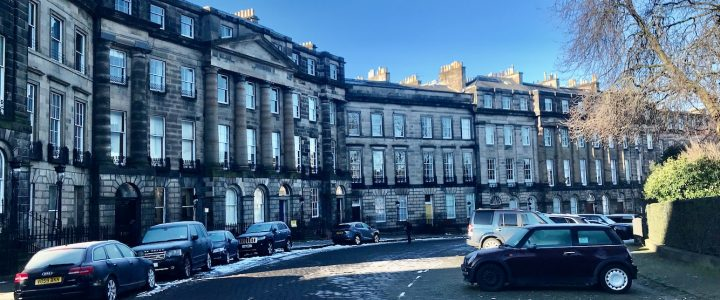 Edinburgh New Town Walk – Easy Walking Tour